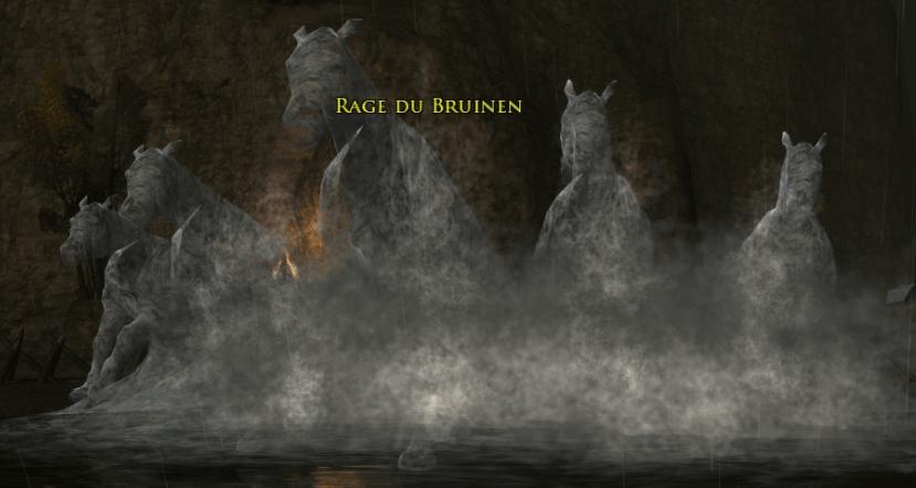 Elrond déchaînera à nouveau la Bruinen pour défendre Fondcombe