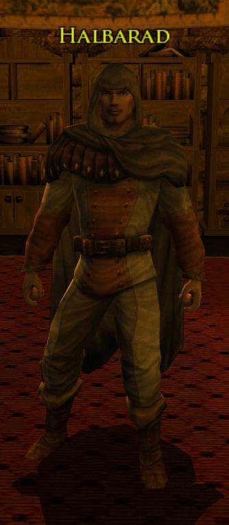 Halbarad, Commandant des Rôdeurs d'Esteldin