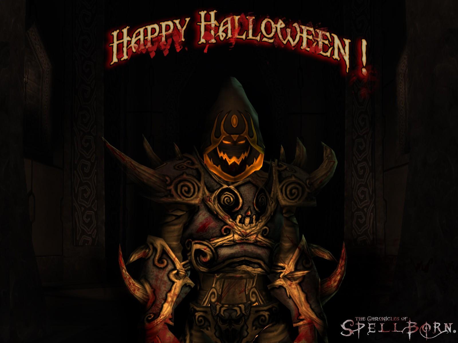 Fond dd'écran halloween